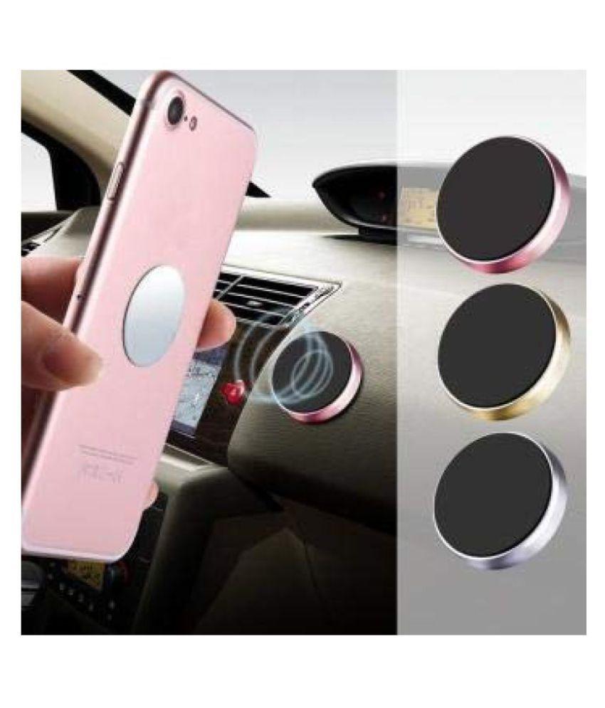 delhideals Car Mobile Holder Magnetic for Dashboard & Windshield - Multicolour