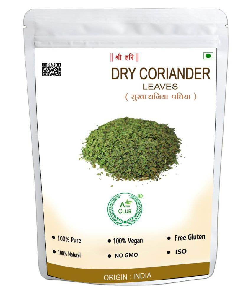AGRICLUB Dry Coriander Leaves 400 gm