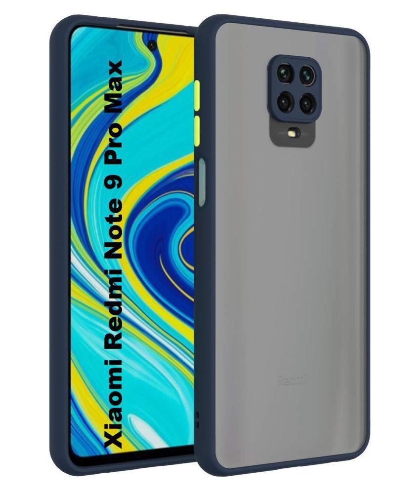 Xiaomi Redmi Note 9 Pro Shock Proof Case NKARTA   Blue Smoke Matte Back Cover