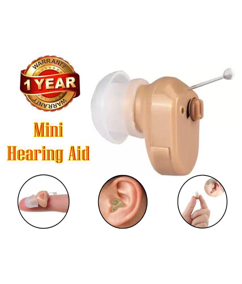 POK  Axon Mini Machine In the Ear Adjustable Sound Amplifier Hearing DEVICE Volume Adjustable Hearing MACHINE