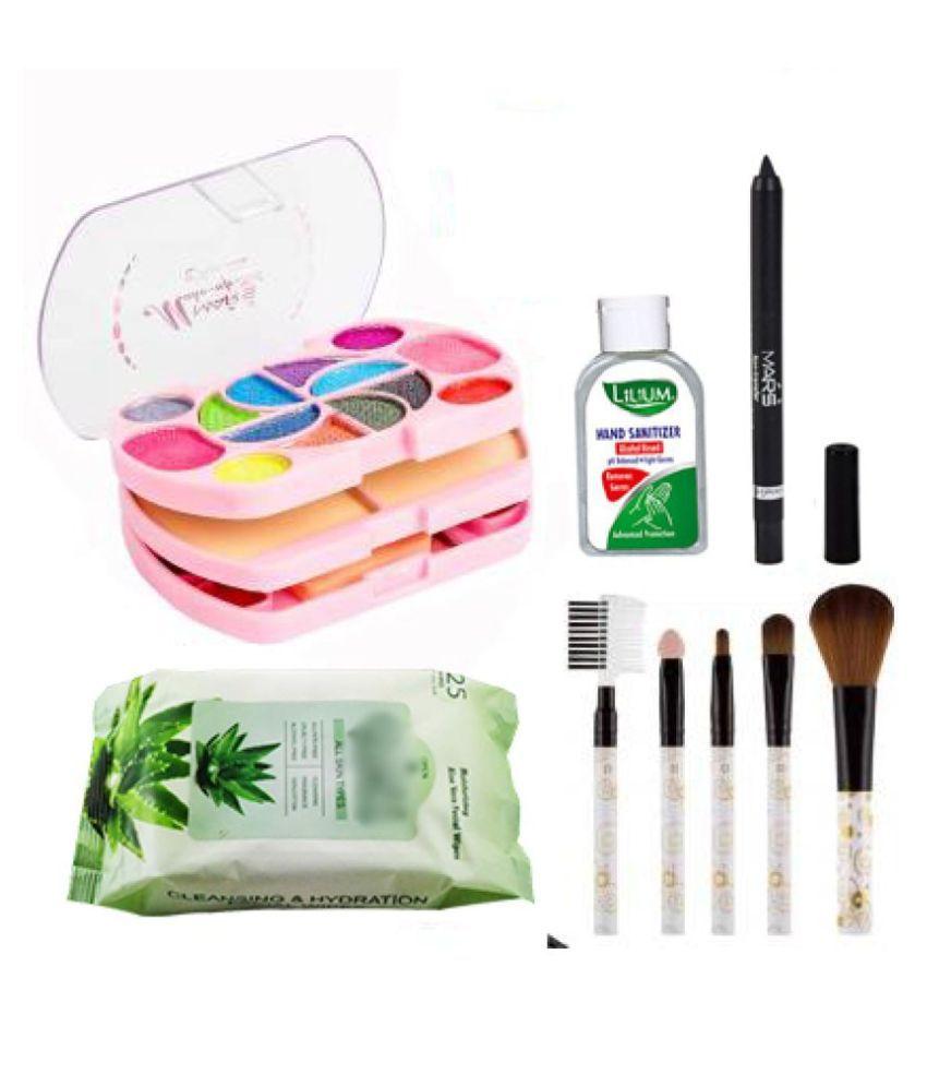 Adbeni Combo - Absolute Makeup Combo, (GC1386) Makeup Kit Pack of 9 105