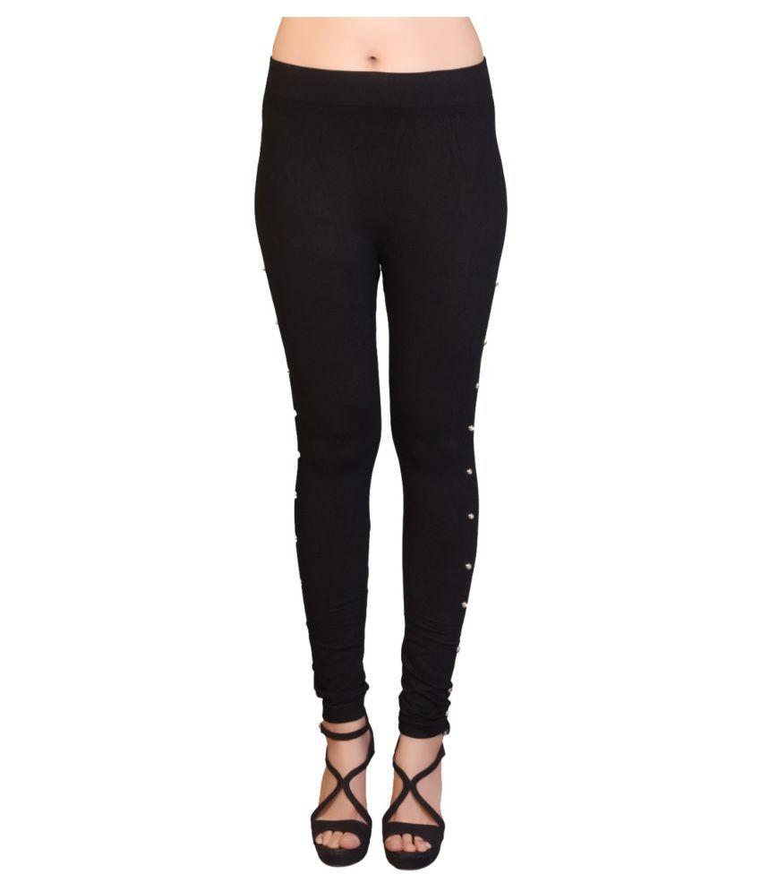 Avenew Fashions Lycra Jeggings - Black