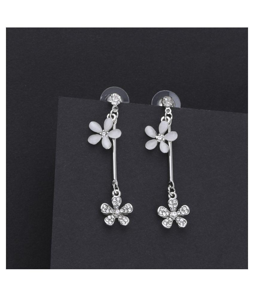 Attractive Diamond Dangle Earring For Girl Women