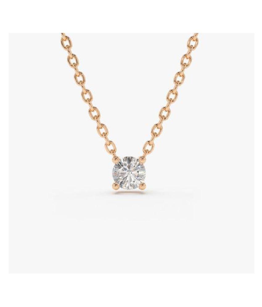 American Diamond  original & lab certified Gold Plated Pendant for astrological purpose by Ratan Bazaar\n