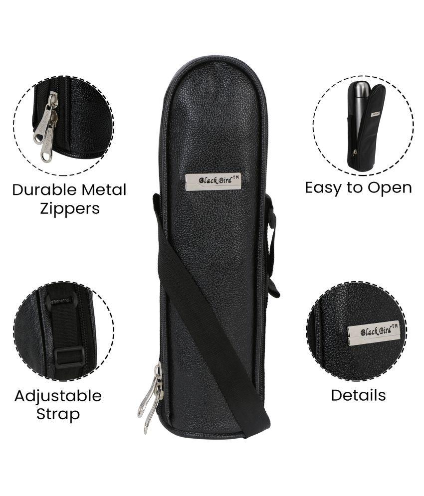 Black Bird Fabric Bottle Cover for  - 1 bottle