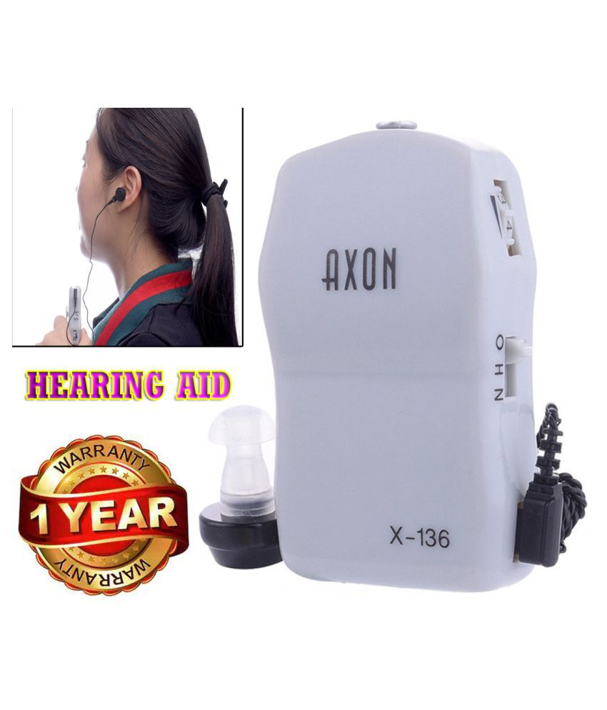 IND Hearing aid Volume Adjustable AXON X-136 Sound Voice Amplifier hearing aids Ear Hearing Aid