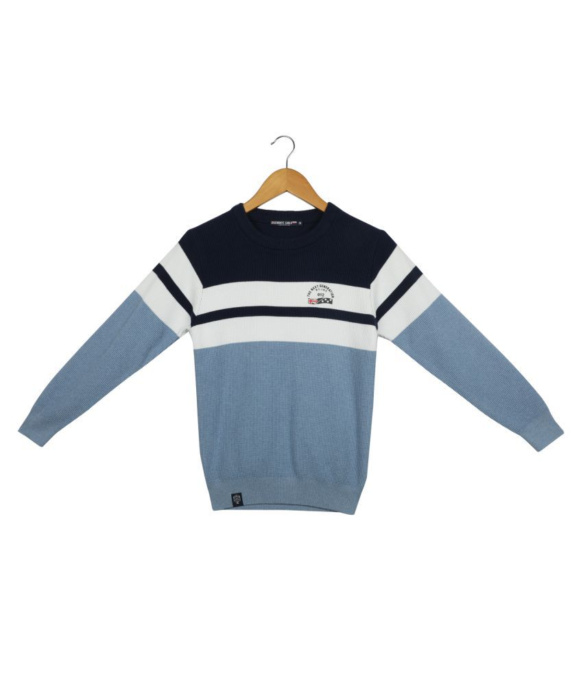 Monte Carlo Boys Navy blue Striped Pullover