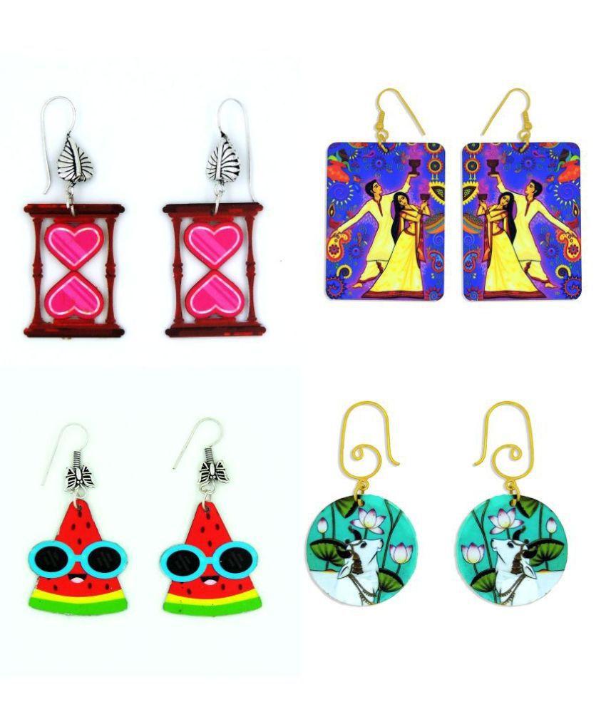 Sayaani Traditional Stylish Fashion Earrings