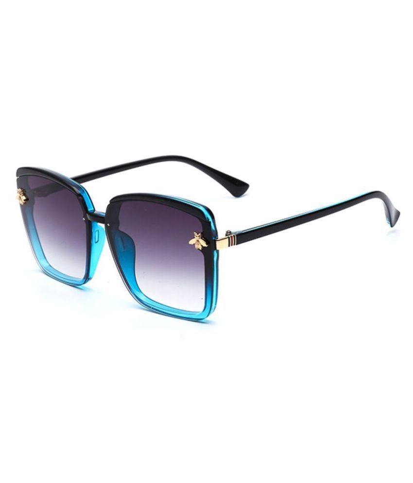 Arizona Sunglasses - Purple Square Sunglasses ( V70005-C4 )