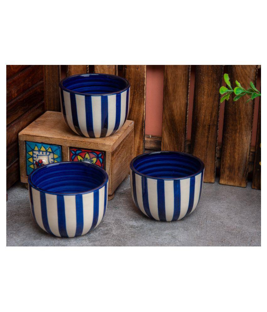 hindustani saudagar Ceramic Candy Bowl 3 Pcs