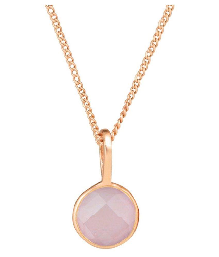 Natural Lab Certified 6.25 carat 100% Original Rose quartz Pendant for unisex by Kundli Gems\n