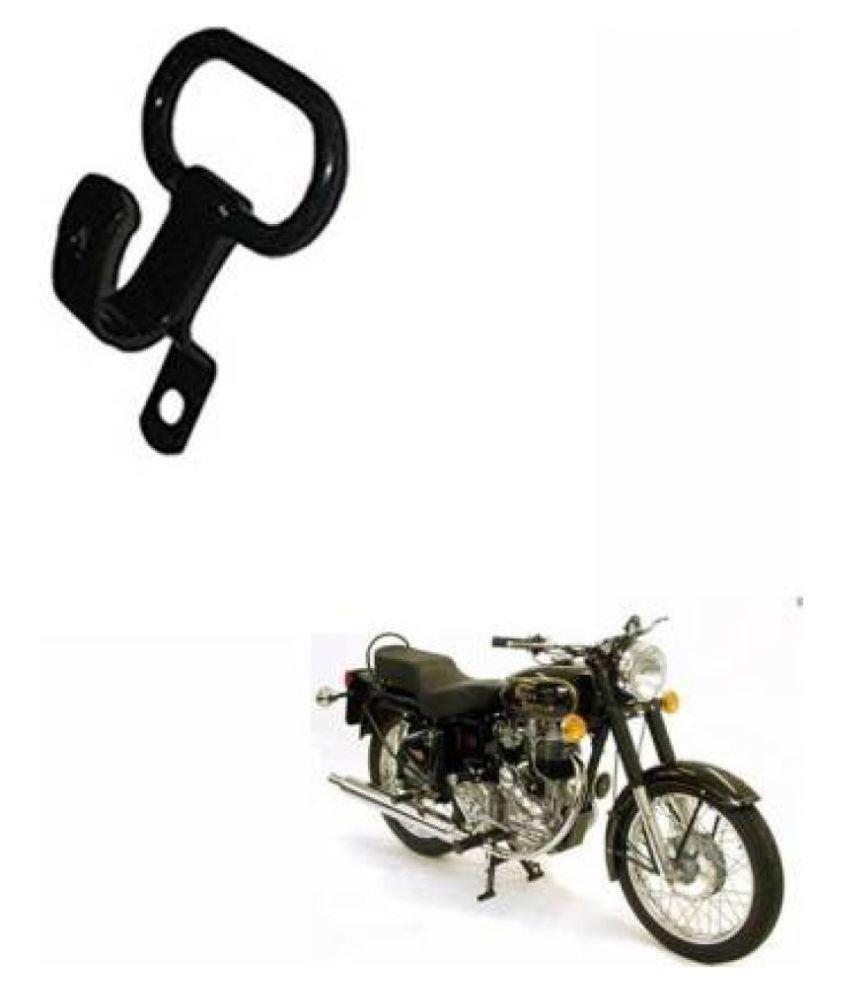 PURE BIKING Side Handle Hook Black For Royal Enfield Classic , Classic 350cc , 500cc , Electra , Standard