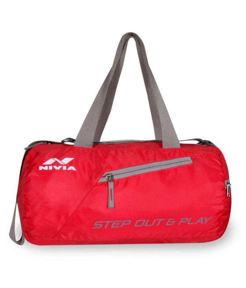 Nivia Deflate Round   01 gym bag