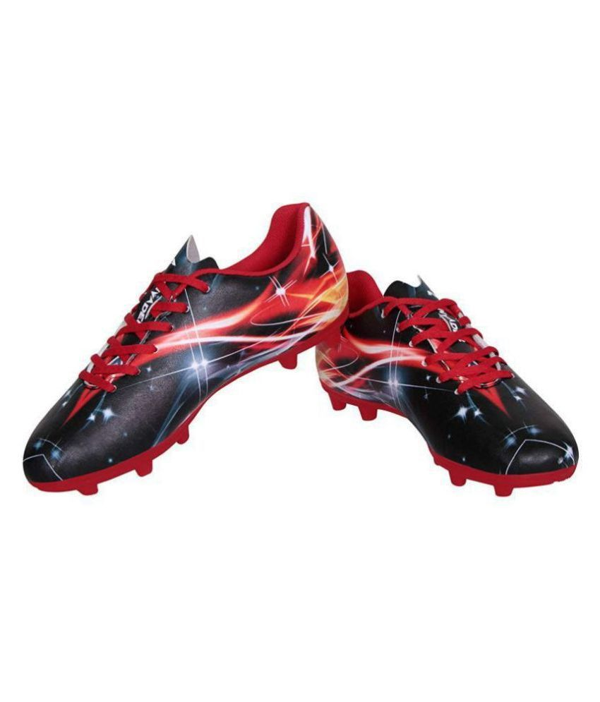 Nivia Invader Football  Flat Male Red
