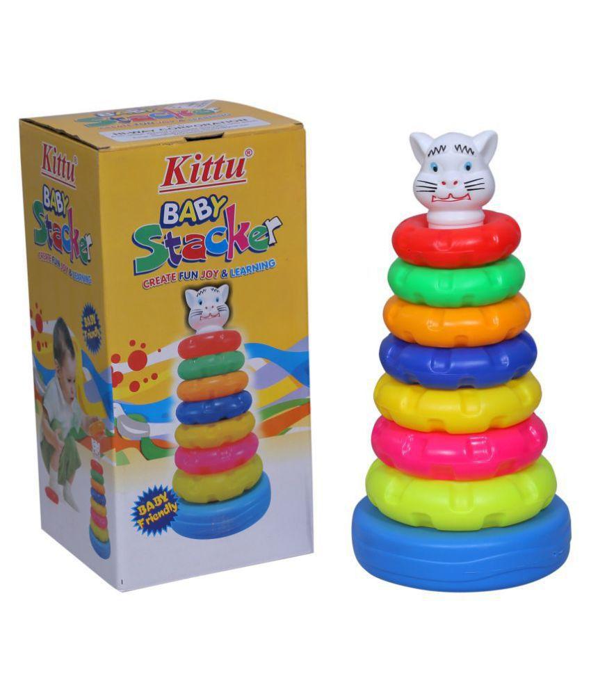 7 BABY STACKER SENIOR NET (With Box) (K)