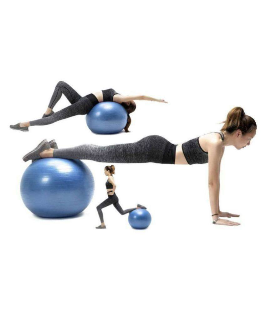 intresting 75cm Gym Exercise Ball for Fitness, Stability, Gym, Balance & Yoga, Yoga Ball Chair, Balance Ball-with Pump
