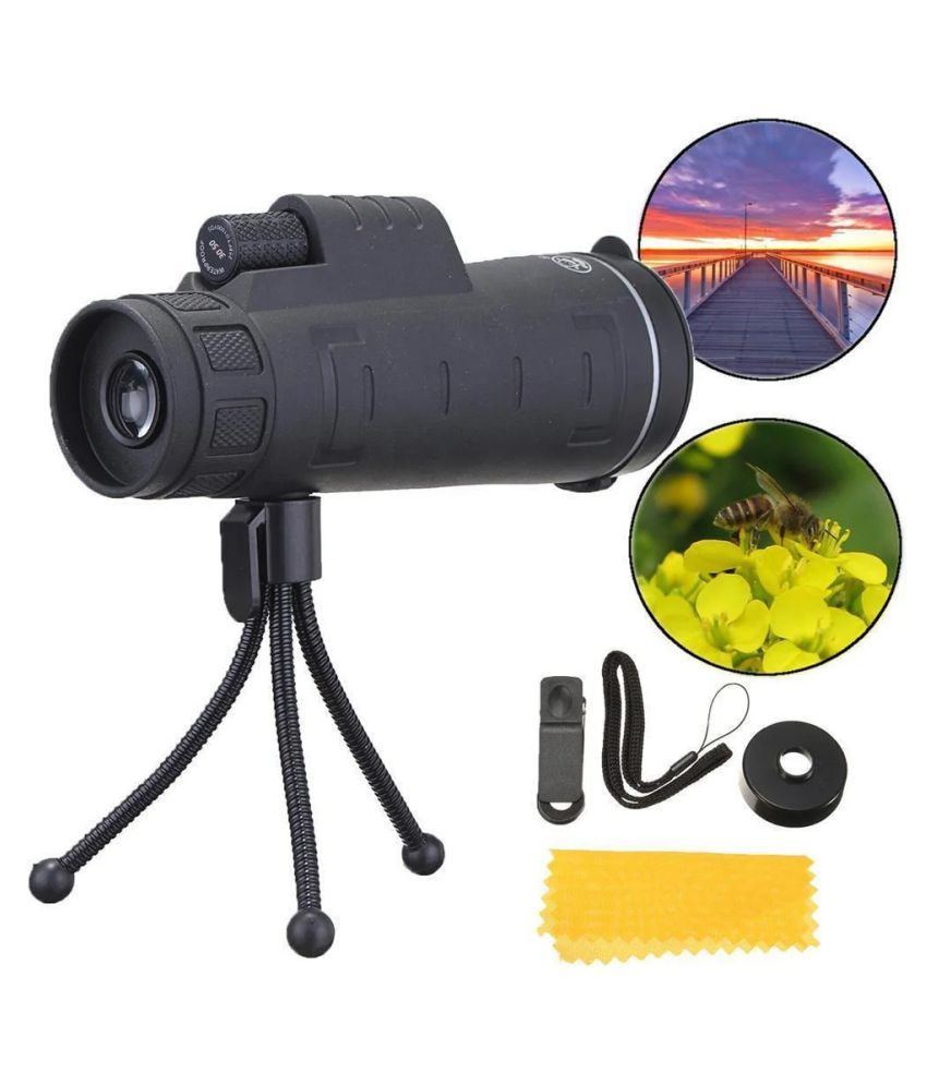 Outdoor 10X42 Dual for Focus Optic Lens Day Night Vision Monocular