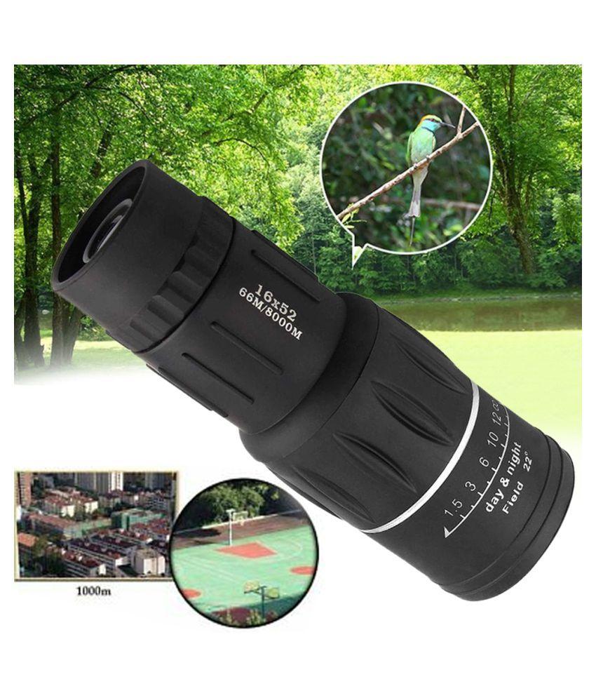 Outdoor Mini 16x52 Dual for Focus Optic Lens Day Night Vision Monocular