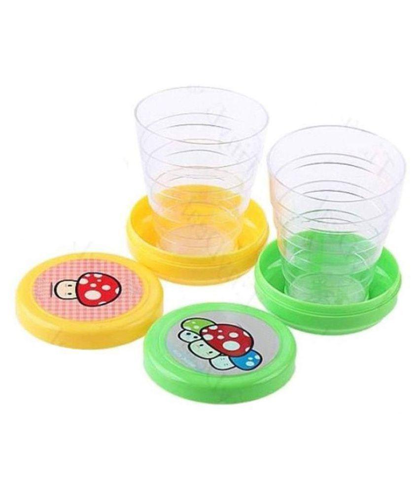 SJ Plastic na Coffee Cup 2 Pcs 75 ml