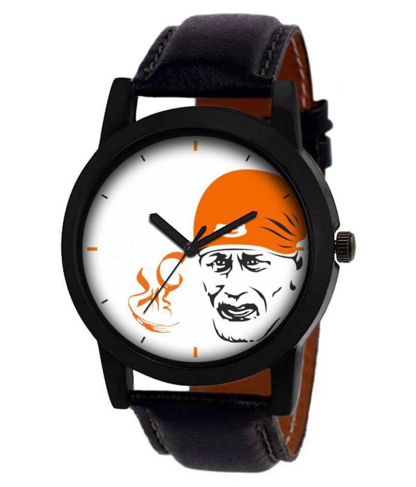 AMINO KJR_171 Leather Analog Men's Watch
