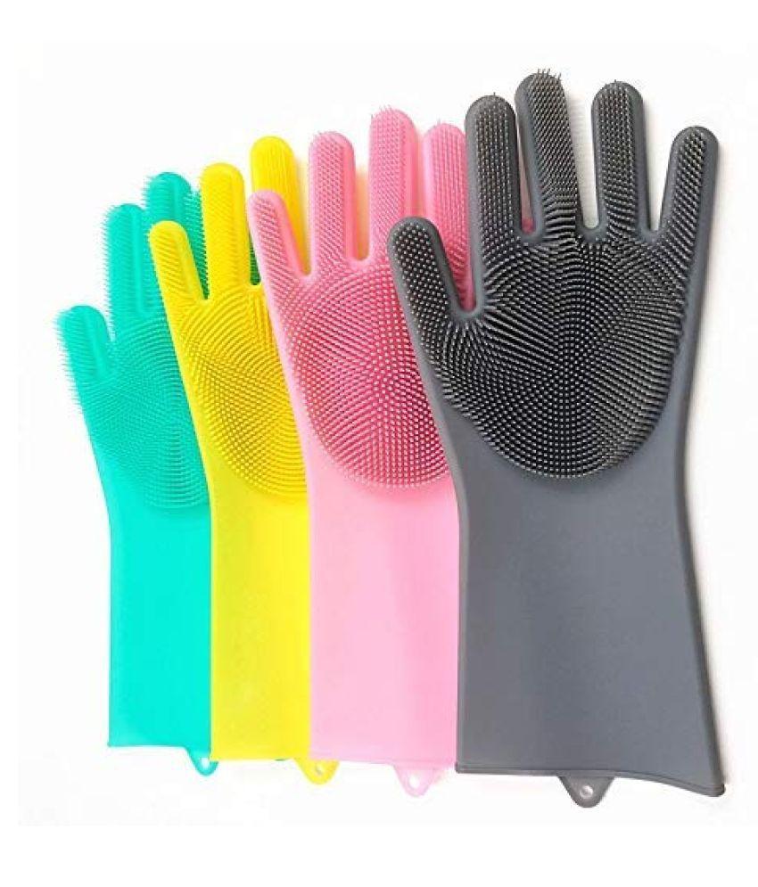 OSSDEN Rubber Medium Cleaning Glove