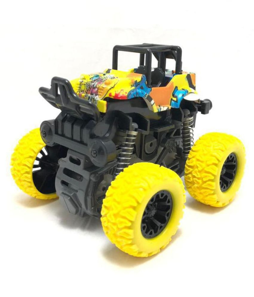 Mubco™   Monster Trucks Toy Off-Road Vehicle   Stylish Painting   4x4 Four-Wheel Drive Buggy  