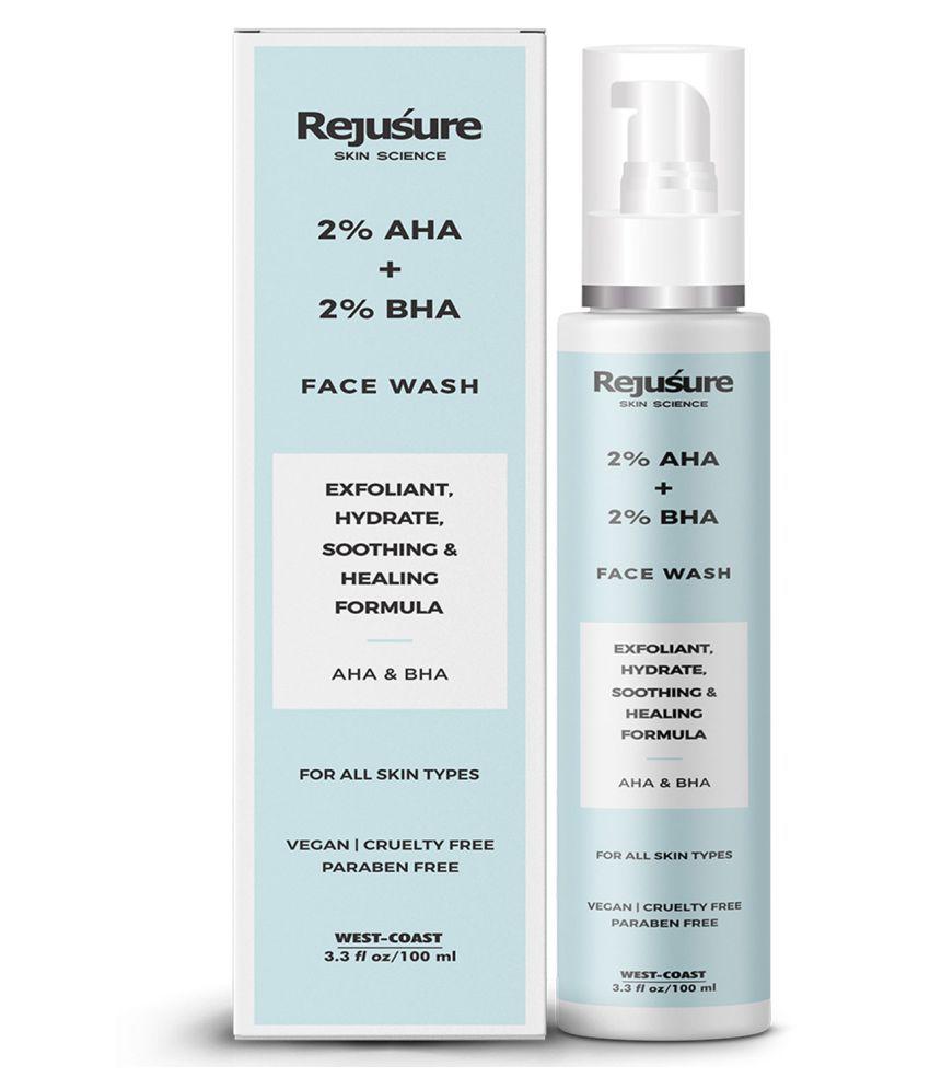 Rejusure AHA 2% + BHA 2% Face Wash Face Wash 100 mL