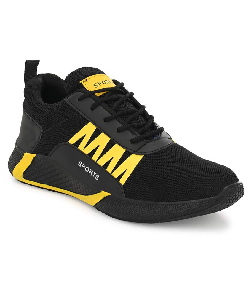 GK FOOT SPORT SHOES Black Running Shoes