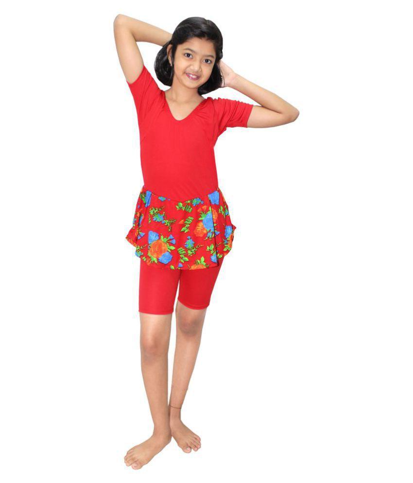 Goodluck Swimming Costume For Kids, Girls