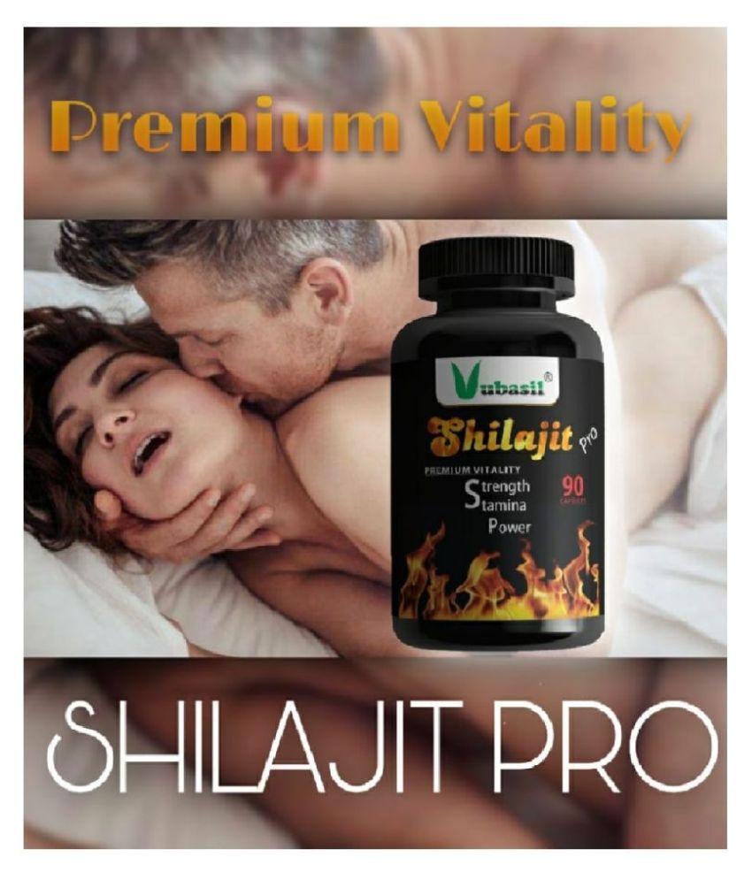 VUBASIL Pure Shilajit Gold Shilajeet 90 no.s Multivitamins Capsule