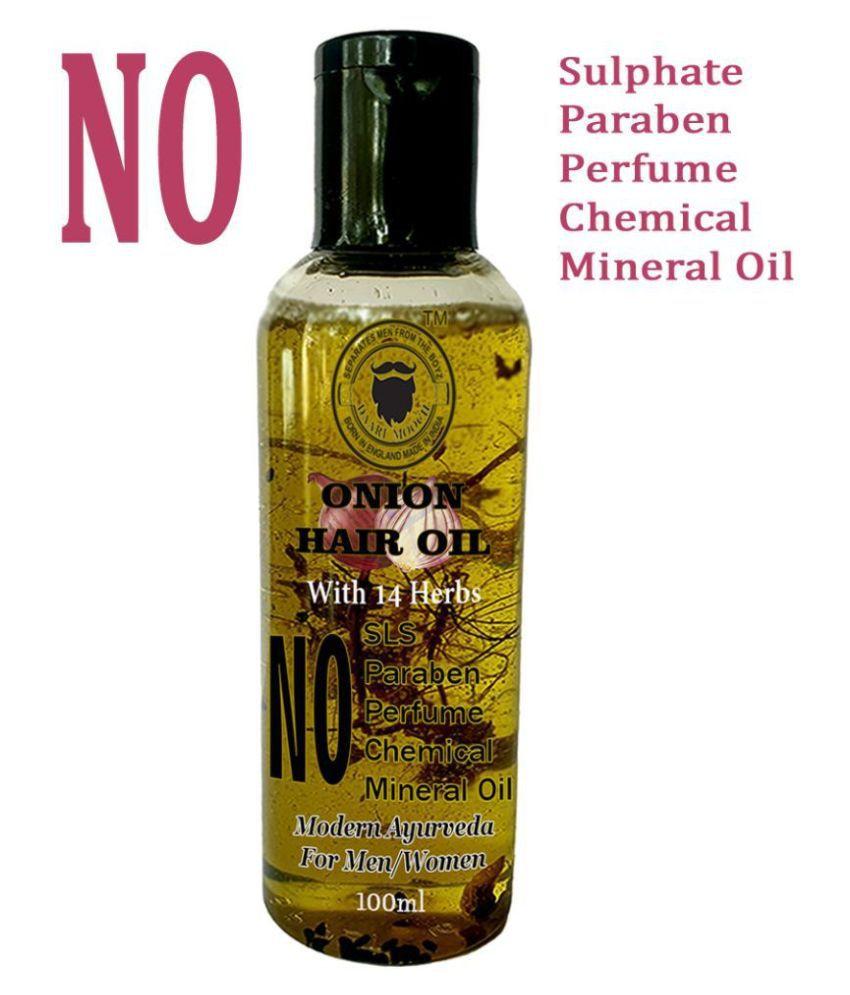 DAARIMOOCH Onion Hair Oil for Growth & Hair Fall Control for Men & Women 100 mL Fliptop Cardboard Box