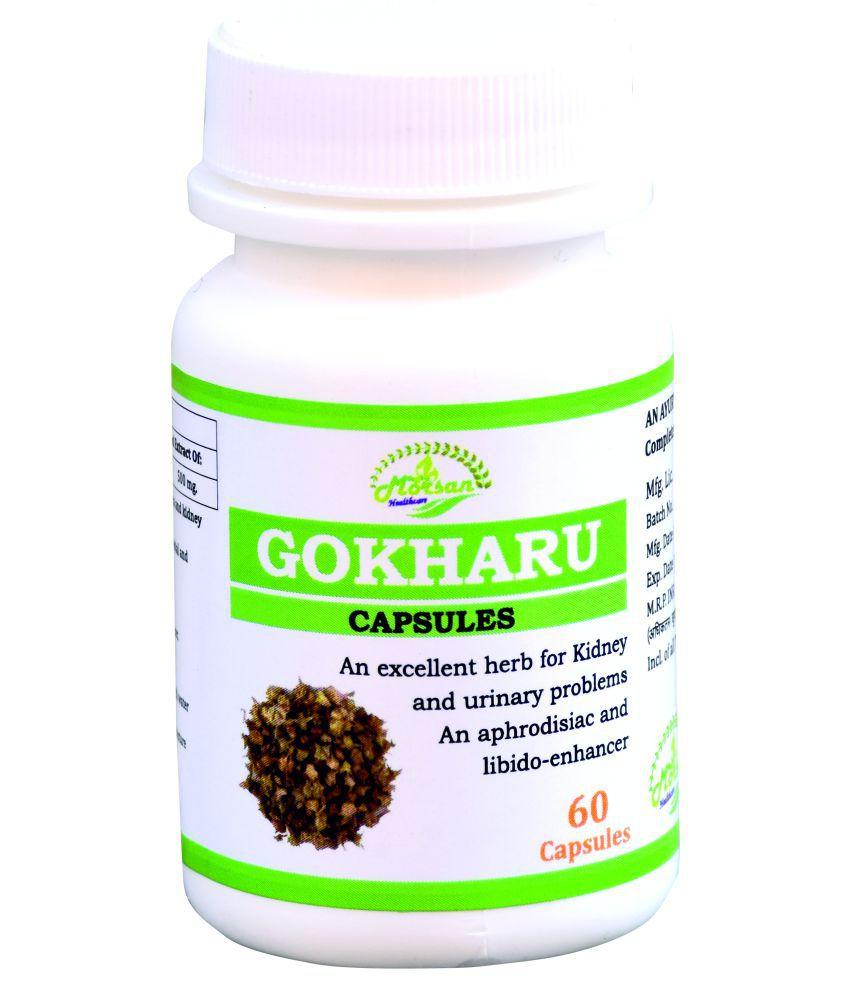 MORSAN HEALTHCARE Gokhru Capsules Capsule 500 mg Pack Of 1