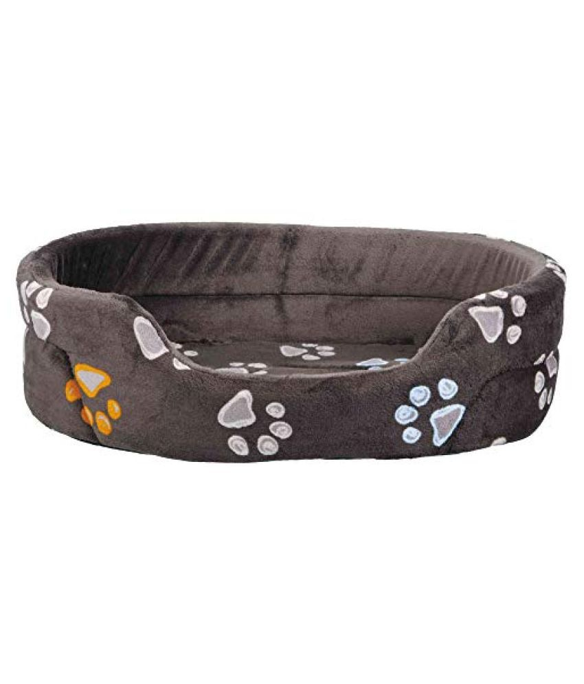 Trixie Jimmy Bed for Pet Cats and Dogs, Taupe (55 × 45 cm)
