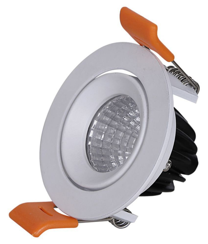 LEDOLUX 3W Round Ceiling Light 6 cms. - Pack of 1