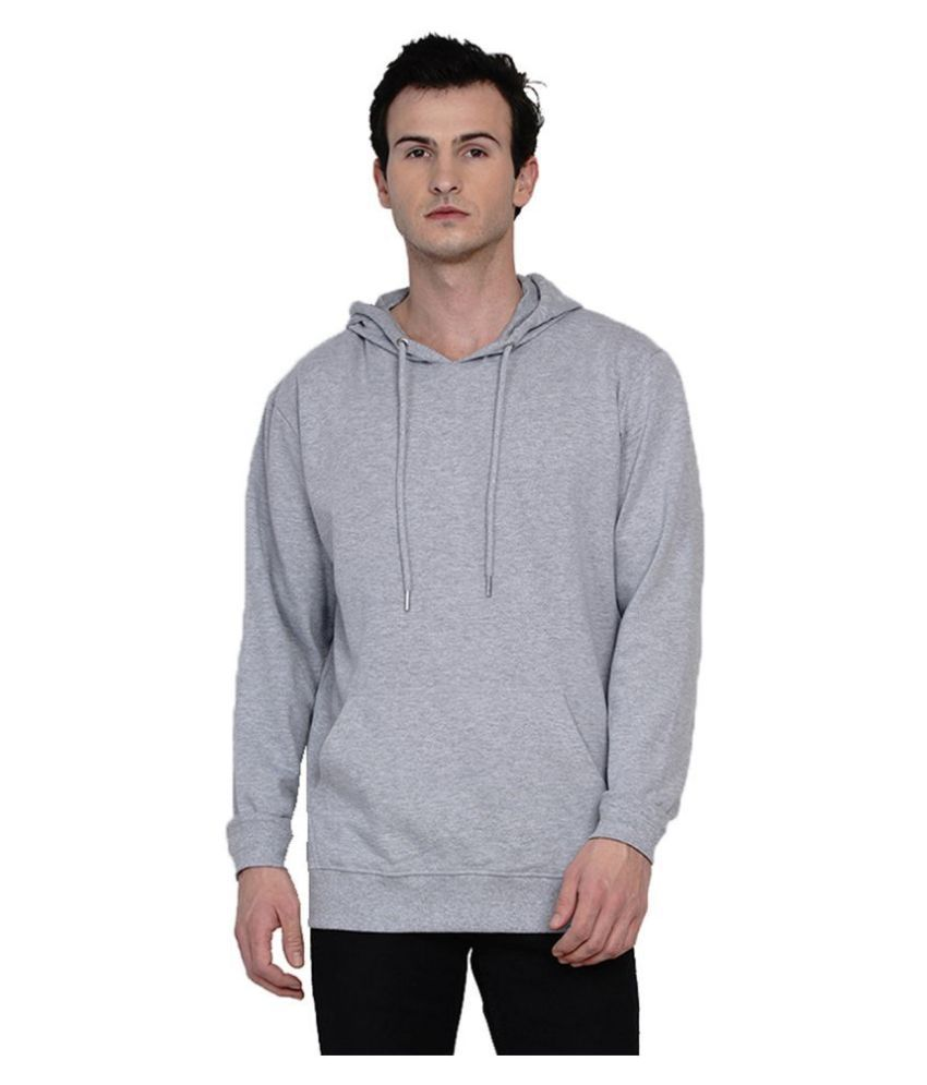 Knits and Weave Grey Sweatshirt
