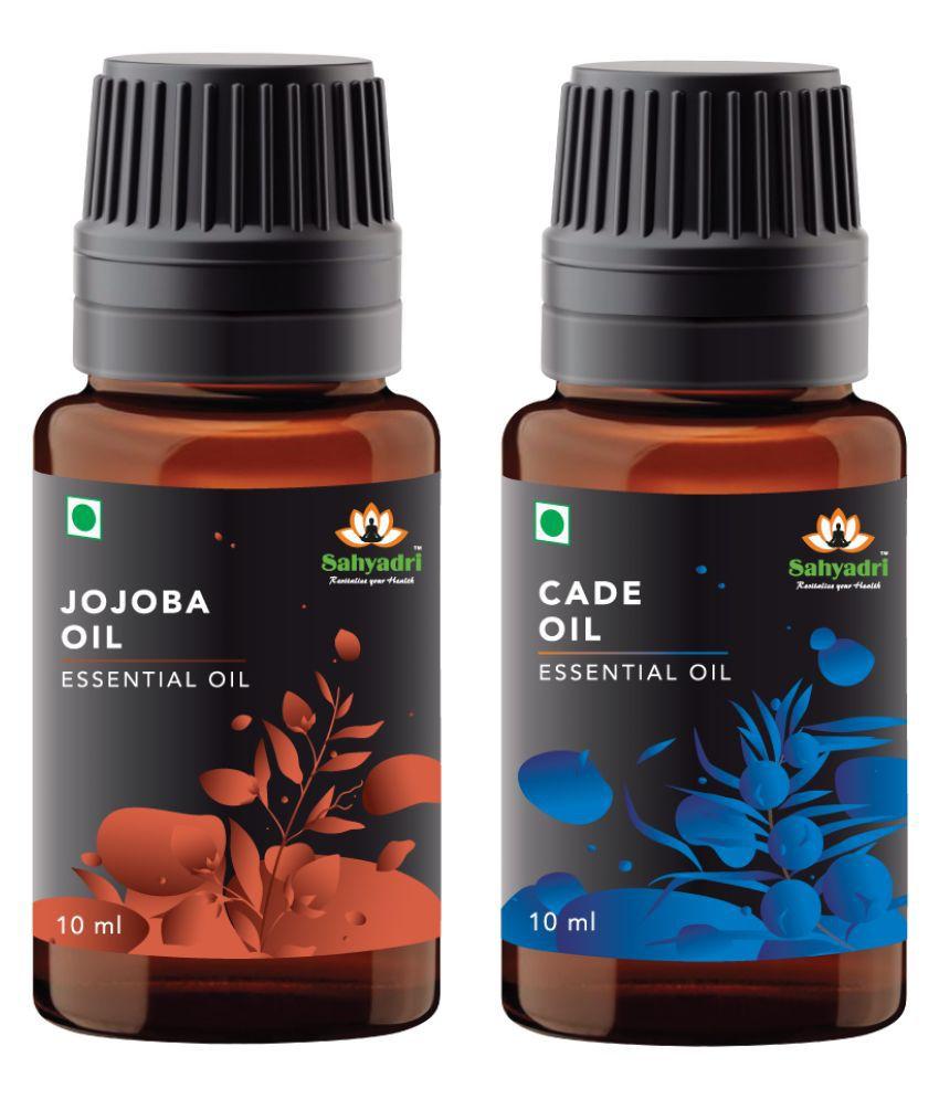 Sahyadri Cade and Jojoba Essential Oil 20 mL