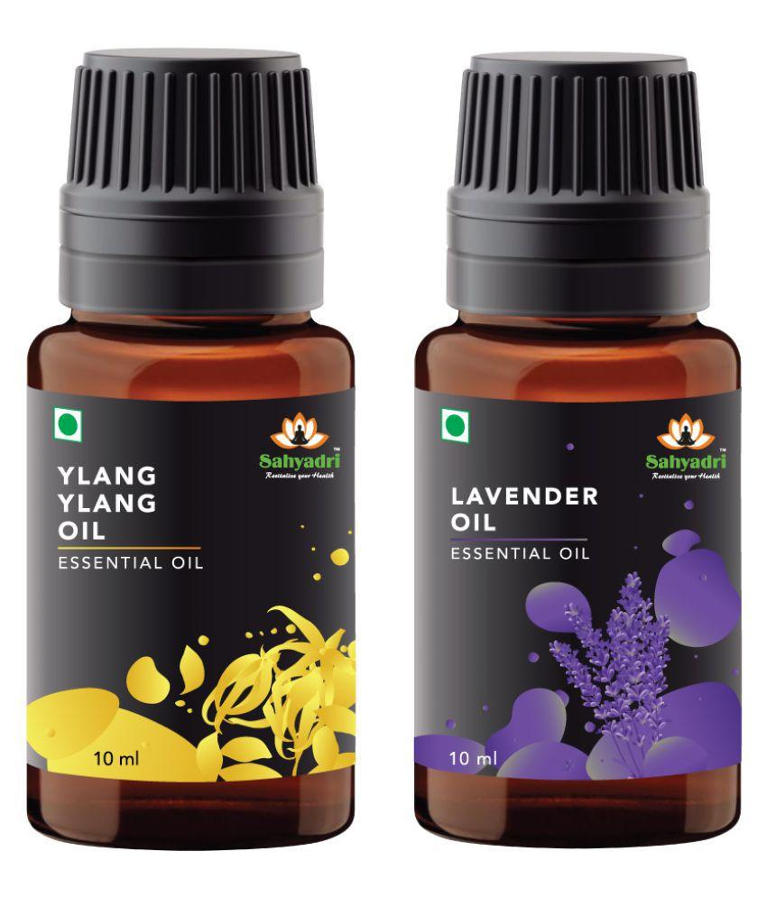 Sahyadri Ylang Ylang and Lavender Essential Oil 20 mL