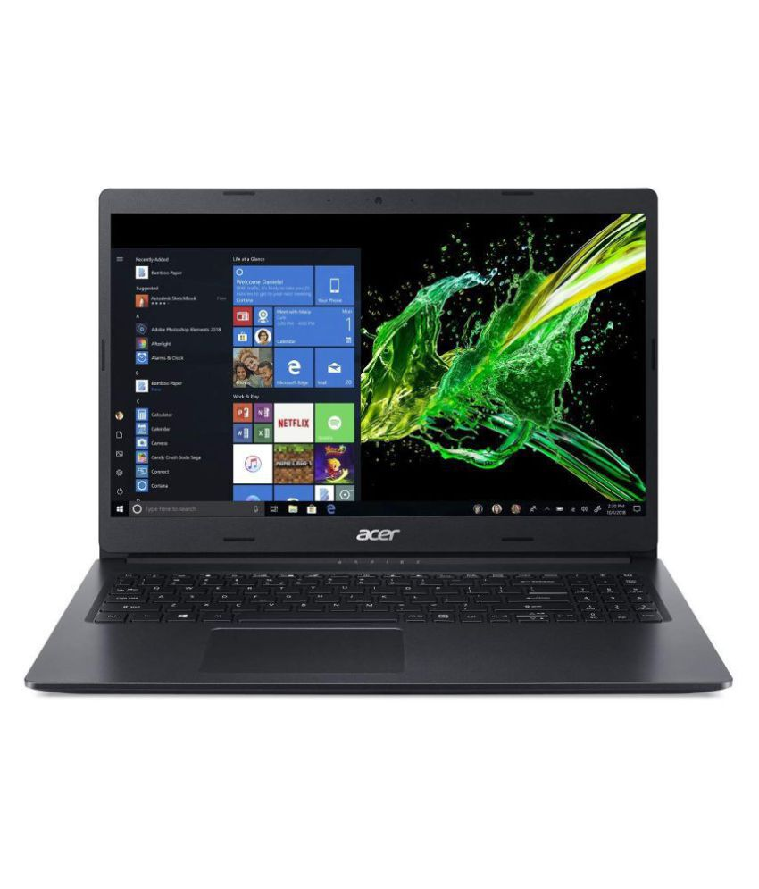 Acer Aspire 3 A315-55G 15.6-inch Laptop (Intel Core i5-10210U/8GB/1TB HDD/Window 10, Home, 64Bit/NVIDIA GeForce MX230 Graphics), Black