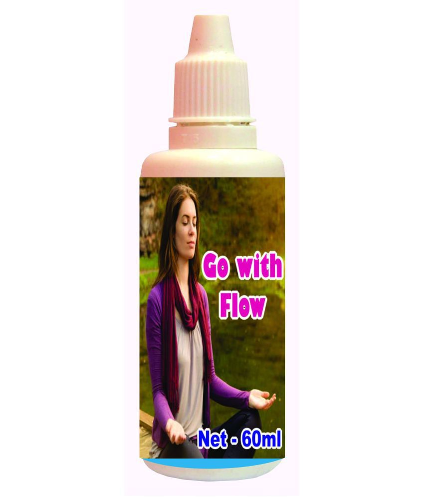 hawaiian herbal Go with Flow Drops -60ml(Get One Bottle 60ml Go with Flow Drops Free) 60 ml Minerals Syrup