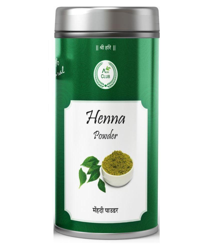 AGRICLUB Temporary Hair Color Henna 200 g