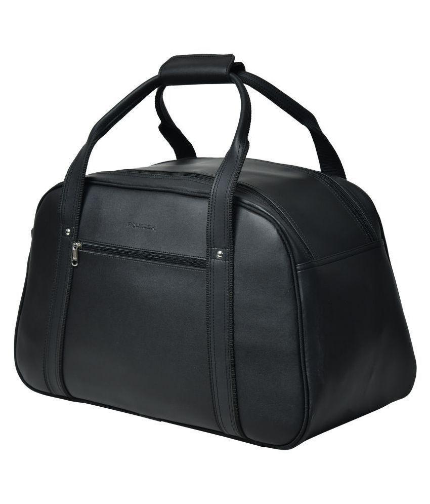 AQUADOR Black Solid M Duffle Bag