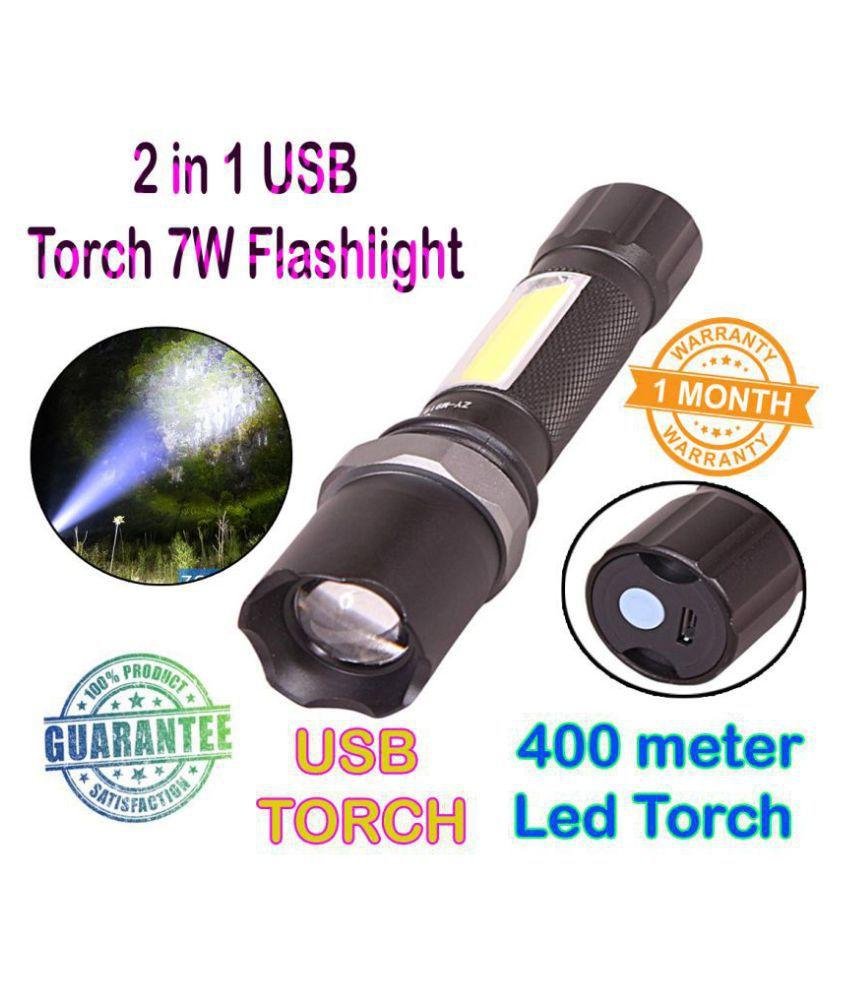 GTR 7W Flashlight Torch - Pack of 1