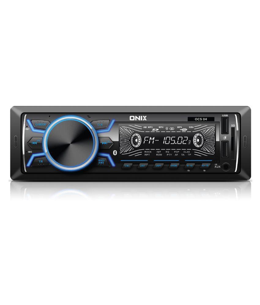 Onix Single DIN Car Stereo
