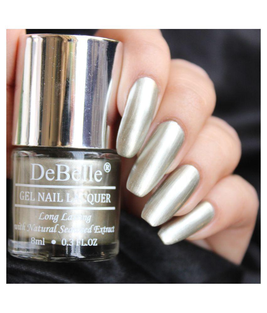 DeBelle Rustique Gold Nail Polish Rust Gold Chrome 8 mL