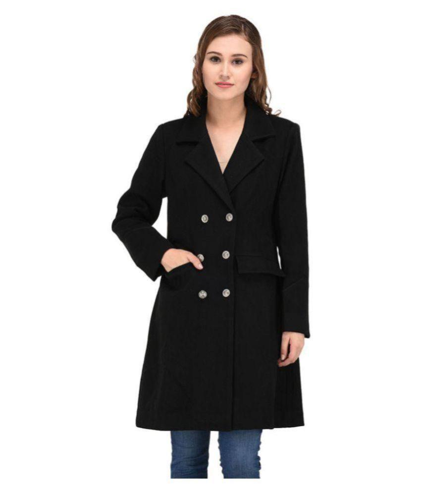 Owncraft Woollen Black Over coats