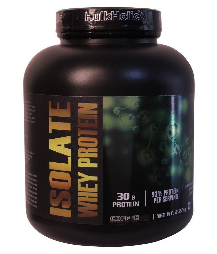 HulkHolic Isolate Whey protein 2.27 kg
