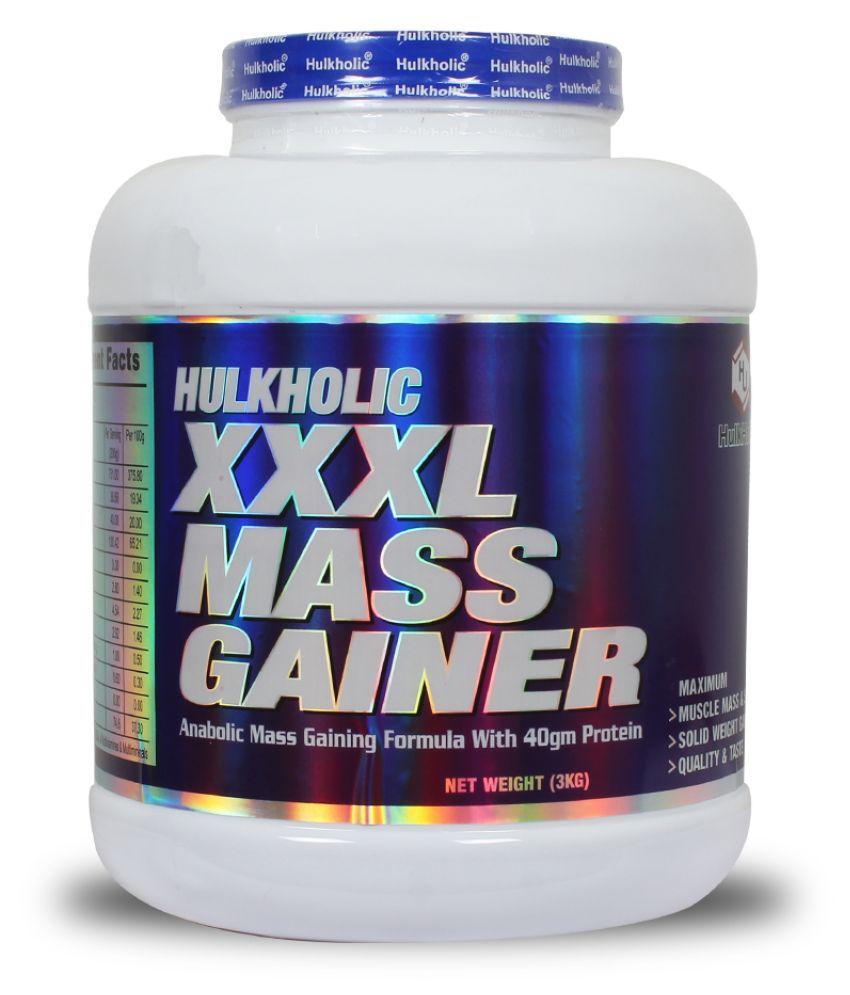 HulkHolic XXXL Mass Gainer 3 kg