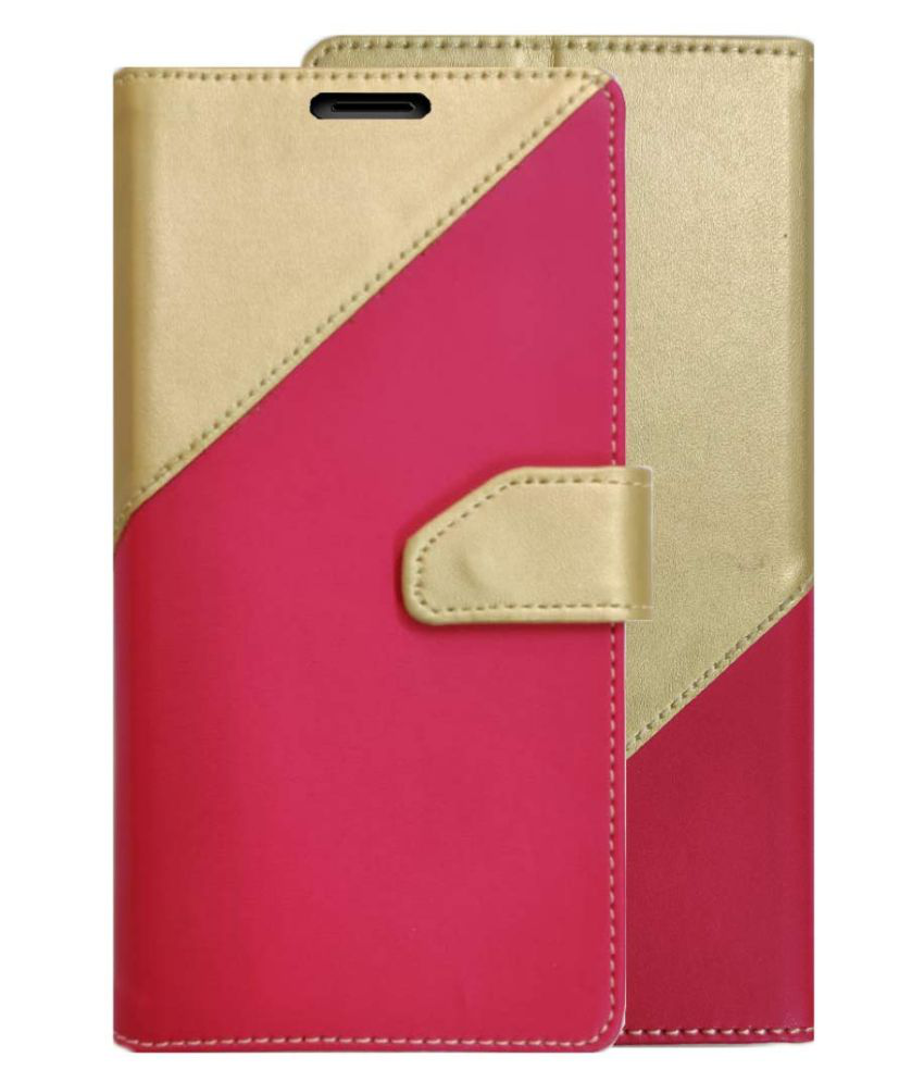 Apple iPhone 7 Plus Flip Cover by XORB   Pink