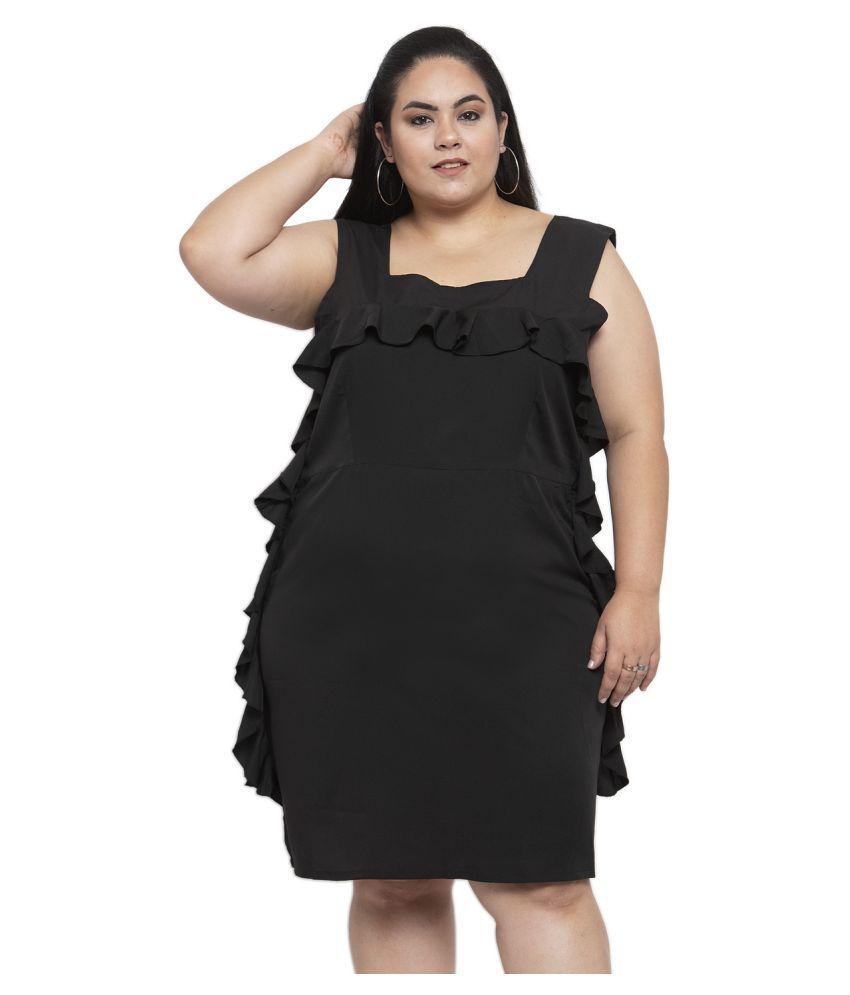Karmic Vision Crepe Multi Color Regular Dress