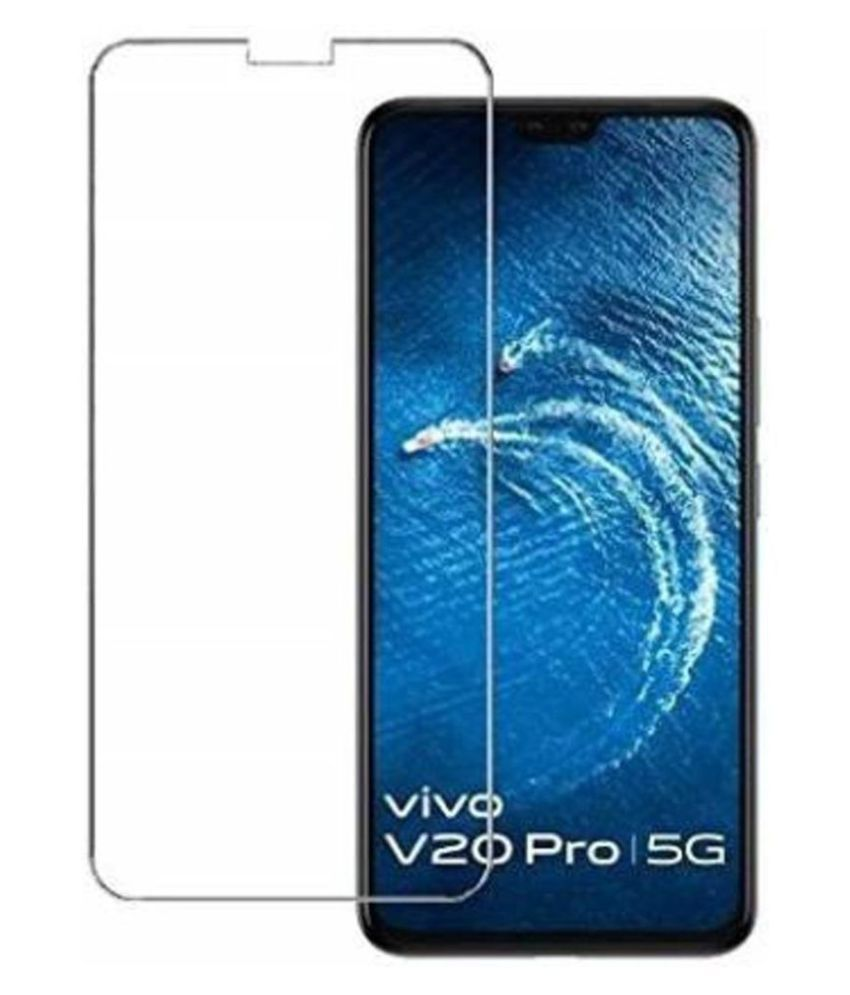 Vivo V20 Pro Tempered Glass by EASYKARTZ